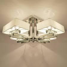 Eiceo Led Woonkamer Lamp Moderne Eenvoudige Kristallen Kroonluchter