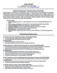 Senior Network Engineer Resume Sample Network engineer resume nowadays becomes so popular It is because 2