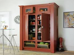 Kitchen Cabinets Freestanding Kitchen Free Standing Pantry Cabinets
