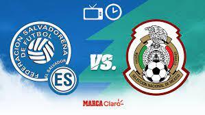 Partidos de Hoy: El Salvador vs México ...