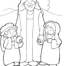Jesus Loves The Little Children Coloring Page Coloring Pages For