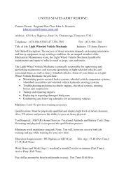 Collection Of Solutions Job Description Automotive Technician