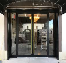 aluminum and glass restaurant door dd744