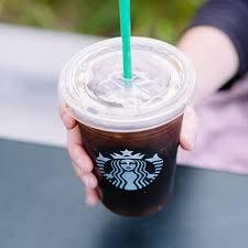 black iced coffee starbucks. Plain Black 4 Iced Americano Inside Black Coffee Starbucks