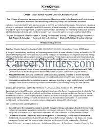 Higher Education Resume Samples Free Resumes Tips