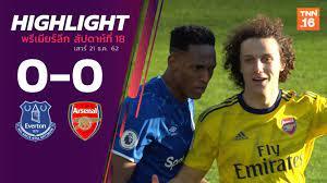 ไฮไลท์ฟุตบอลพรีเมียร์ลีก 2019-20 สัปดาห์ที่ 18 เอฟเวอร์ตัน พบ