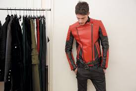 balmain x hm fitting images 7 leather biker jackets are quintessentially balmain