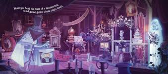 Zoom in for Disney Parks Presents: The Haunted Mansion