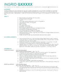 Insurance Sales Representative Sample Resume Podarki Co