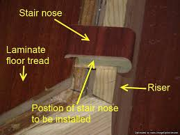 how to install vinyl plank flooring on stairs installing laminate flooring on angled stairs position the
