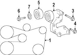parts com® lexus gs300 belts pulleys oem parts 2006 lexus gs300 base v6 3 0 liter gas belts pulleys