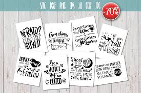 Svg vector file you can scale to unlimited size. 8 Hand Lettered Motivation Quotes Set Graphic By Vector City Skyline Creative Fabrica Hand Lettering Svg Quotes Inspirational Quotes