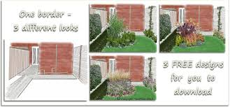 Small Picture Garden Border Designs Free Container Gardening Ideas