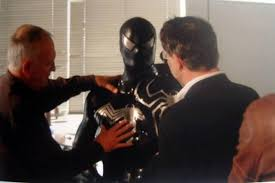 I've included a couple of photos featuring an unused test costume for venom created by frontline design inc. Unused Black Spider Man And Venom Costumes For Spider Man 3 Geektyrant