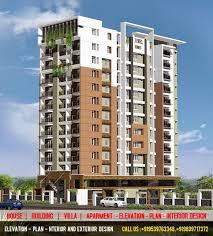 apartment building design. Apartment Building Design In 3d 28+ [ Elevation Done ] |
