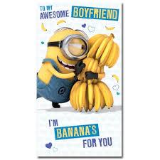 Despicable Me Minion Boyfriend Birthday Card Danilo