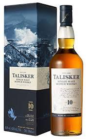 talisker 10 years old single malt scotch whisky 70cl