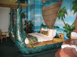 arabian themed room fantasyland hotel. polynesian-themed bed at the fantasyland hotel arabian themed room