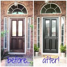 painting front doorPainting the Front Door  WellGroomed Home