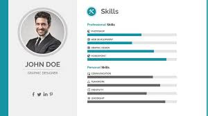 ... Resume Ppt 13 Inspiring Design Powerpoint 5 PowerPoint Template By ...