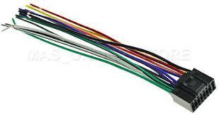 jvc wire harness kd r kdr kd r bull picclick wire harness for jvc kd r520 kdr520 pay today ships today