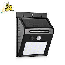 4 шт. светодиодный <b>светильник на солнечных батареях</b> PIR ...