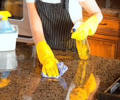protect granite worktops cleaning