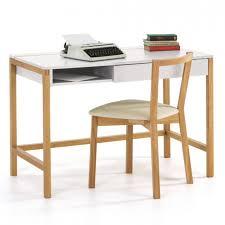 northgate modern scandinavian office desk in oak white