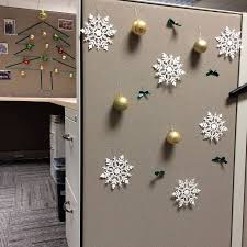 office decor for christmas. christmas cubicle decoration my very first pincubicle decor office for s