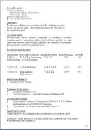 typical resume format Sample Template Example ofBeautiful Excellent  Professional Curriculum Vitae / Resume / CV Format