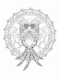 Printable Owl Coloring Pages For Adults Lovely 23 Free Printable