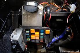 fuse box speakers patrick and richard s marlin sportster build mk 2 fuse holder