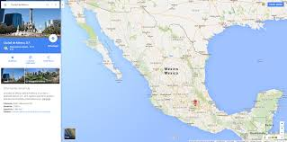 map of mexico google  all world maps