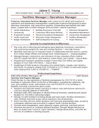 Operations Manager Sample Resume Finance Operation Manager Sample
