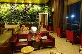 GVK Lounge seating Mumbai Airport