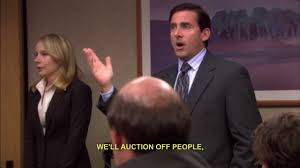 The Office Michael Scott The Office Us Stanley Well Auction Off