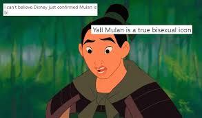 Mulan the anime lesbian
