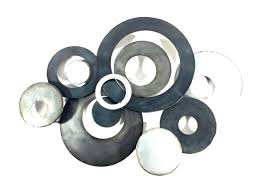 saveenlarge circle metal wall art