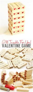 valentine s day hearty tumble game another fun gift idea for your valentine s day