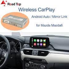 Không Dây Apple CarPlay Cho Xe Mazda 6 Mazda6 2014 2020, Với Android Tự  Động Liên Kết AirPlay Xe Chức Năng Chơi|Car Multimedia Player