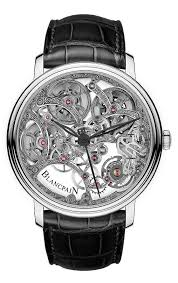 bare bones 10 standout skeleton watches › watchtime usa s no 1 blancpain villeret squelette 8 jours