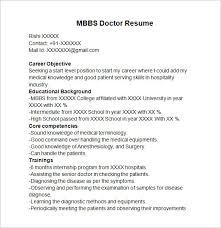 Resume Sample For Fresh Mbbs Graduate Resume Ixiplay Free Resume