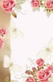 Scrapbook Flower Border Clipart Border Design Floral Border