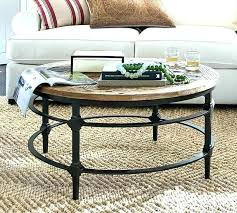 circle coffee table with storage round wicker large size of glass occasional tables stora round leather ottoman coffee table
