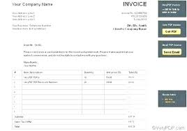 Free Invoice Maker Download