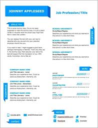 Modern Resume Template Free Word Alieninsidernet