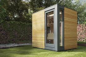 outside home office. called a micropod for your workspace outside i need one to sit and look on pinterest uninterrupted products such garden studio stu2026 home office