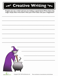th grade halloween writing prompt worksheets com halloween story starters 3