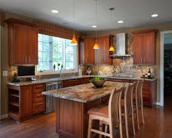 kitchen cabinets with granite countertops: traditional kitchen by granite connection llc