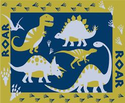 dinosaur mat 60 x 90 cm